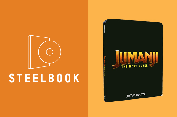 JUMANJI: THE NEXT LEVEL 4K STEELBOOK BUNDLE