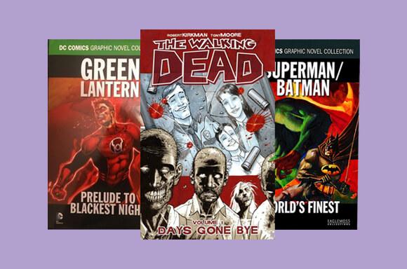 Graphic Novel offer (Marvel, DC, others)