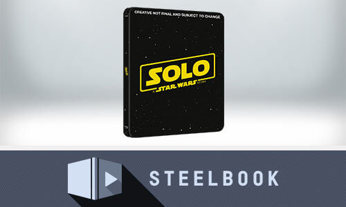 SOLO: A STAR WARS STORY 3D LIMITED EDITION STEELBOOK (INCLUDES 2D VERSION)