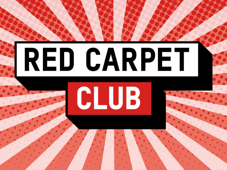 Red Carpet Club Locked