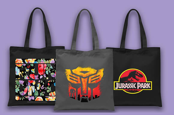 TOTE BAGS  BUY ONE GET ONE FREE!