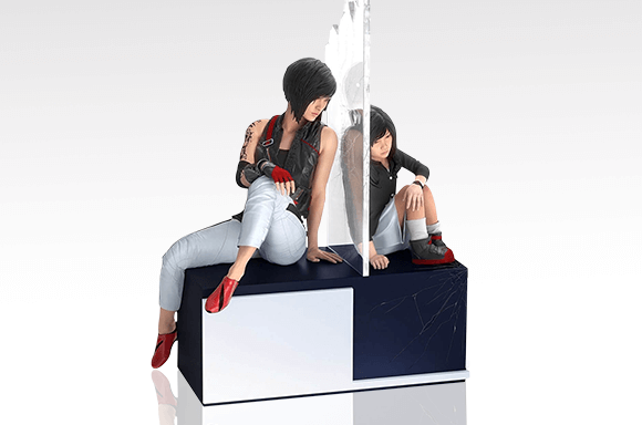 COLLECTOR'S EDITION GAMING STATUES