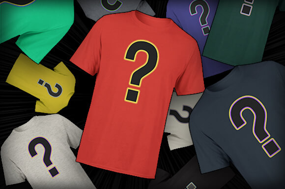 10 MYSTERY GEEK T-SHIRTS<BR>ONLY £19.99!