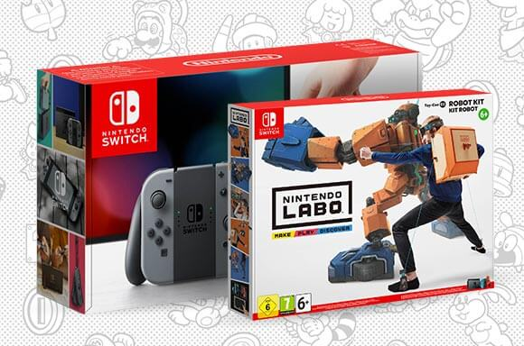 Nintendo Switch & Nintendo Labo Toy-Con 02: Robot Kit