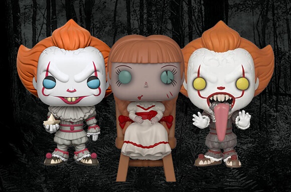 3 HORROR POP! VINYL FOR £29!