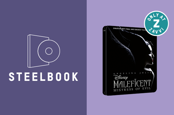 MALEFICENT: MISTRESS OF EVIL 3D & 4K STEELBOOKS