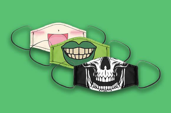 Face Masks £8.99 + Free Hand Sanitiser