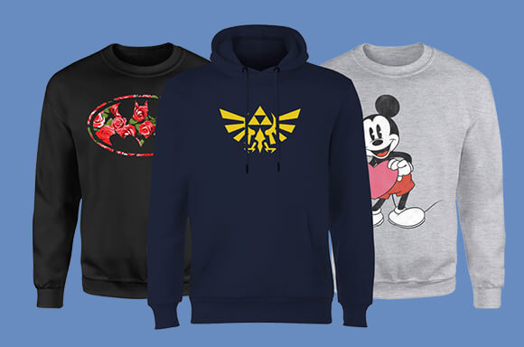 Sweats & Hoodies – 2 for just £35