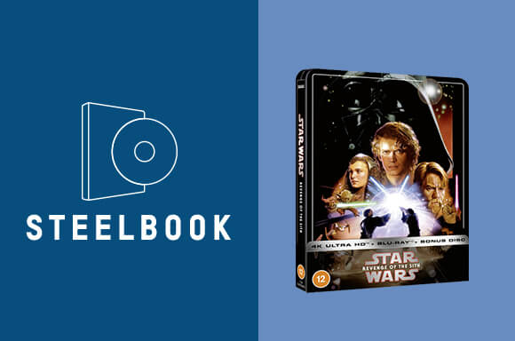: Star Wars Episode III: Revenge of the Sith - Zavvi Exclusive 4K Ultra HD Steelbook (3 Disc Edition includes Blu-ray)