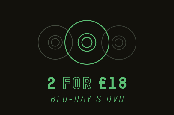 2 FOR £18 BLU-RAY & DVD