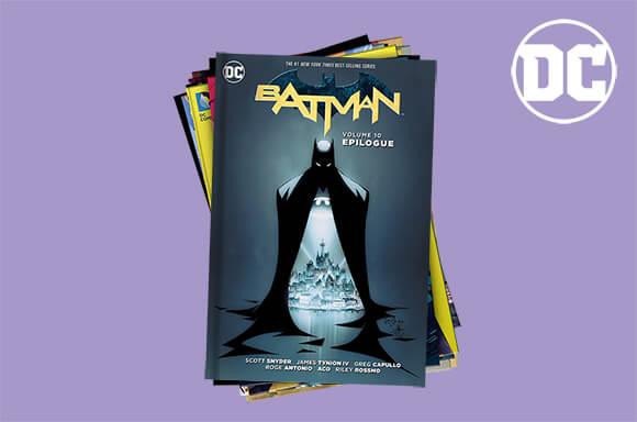 MYSTERY DC COMICS GRAPHIC NOVEL 10 PACK
