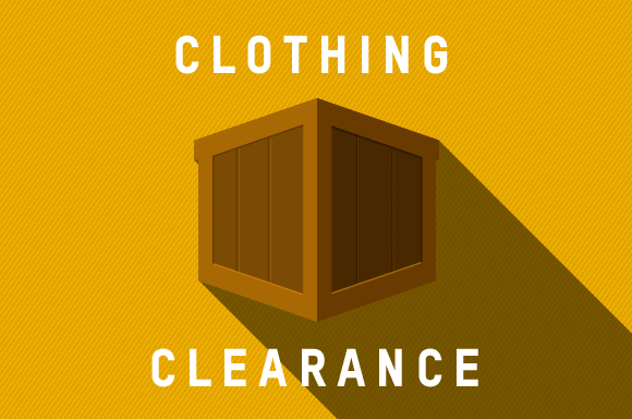 MASSIVE CLOTHING CLEARANCE