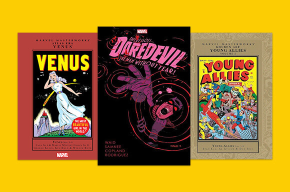EXTRA 50% OFF<BR> MARVEL BOOKS