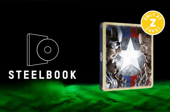CAPTAIN AMERICA: CIVIL WAR 4K ULTRA HD