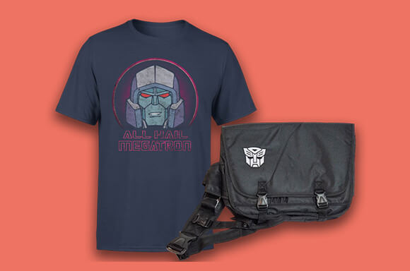 Transformers Bag & T-shirt only £12.99!