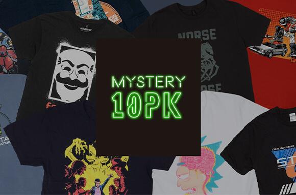 Pack Camisetas Misteriosas