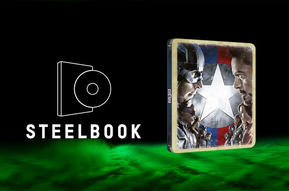 STEELBOOK CAPITÁN AMÉRICA: CIVIL WAR 4K