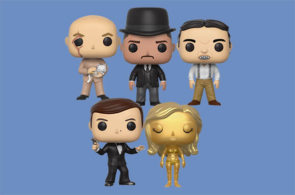 PACK FUNKO POP! JAMES BOND