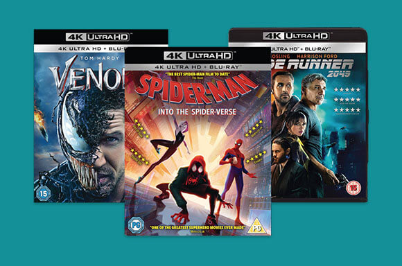 FILMS SONY 4K UHD 2 POUR 22€