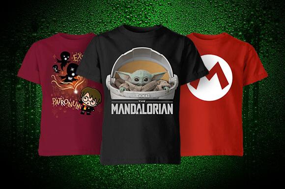 T-shirts Enfants 2 pour 12€