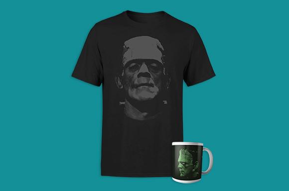 T-Shirt & Tasse Frankenstein 9,99€ seulement !