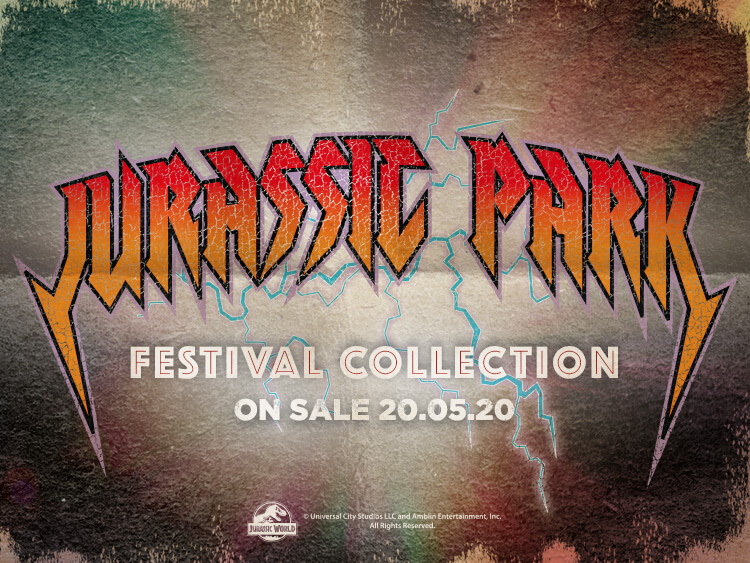 JURASSIC PARK - FESTIVAL COLLECTION