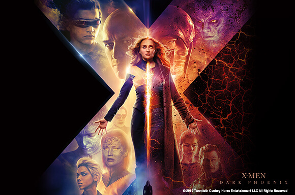 DVD & BLU-RAY X:MEN DARK PHOENIX