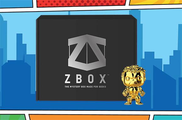BOX MYSTÈRE COMIC CON