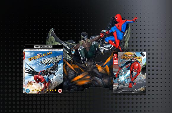4K Ultra HD + Figurine et Comic !