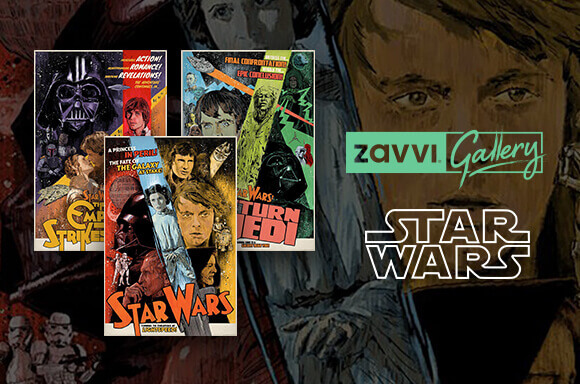 POSTERS STAR WARS ÉDITIONS LIMITÉES