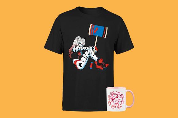 Camiseta + Taza Harley Quinn