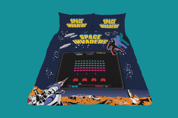 HOUSSE DE COUETTE SPACE INVADERS