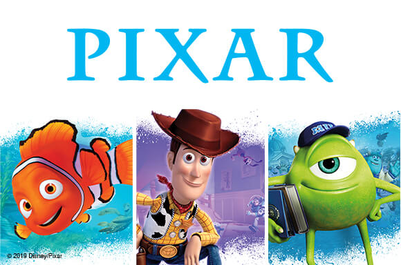 BLU-RAY & DVD<br> DISNEY PIXAR