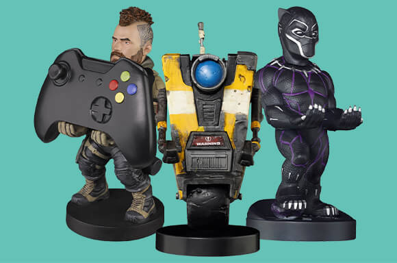 FIGURINES CABLE GUYS