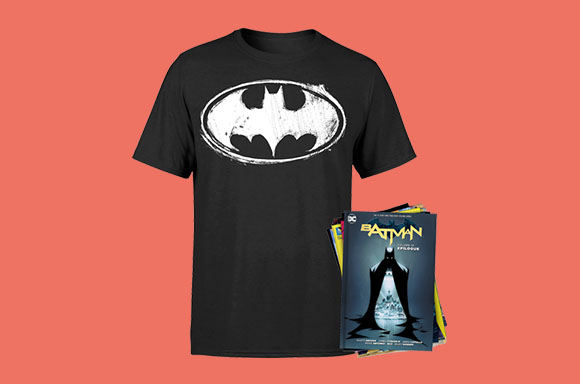 Batman T-Shirt & Graphic Novels
