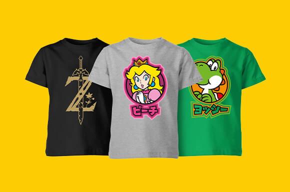 Nintendo Kids Tees - €7