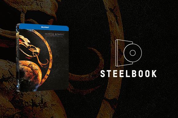 Mortal Kombat 2 Steelbook