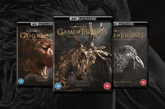 Game of Thrones: Seasons 1-8 4K Ultra HD