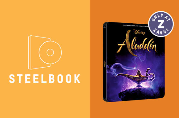 ALADDIN 3D & 4K ULTRA HD STEELBOOKS