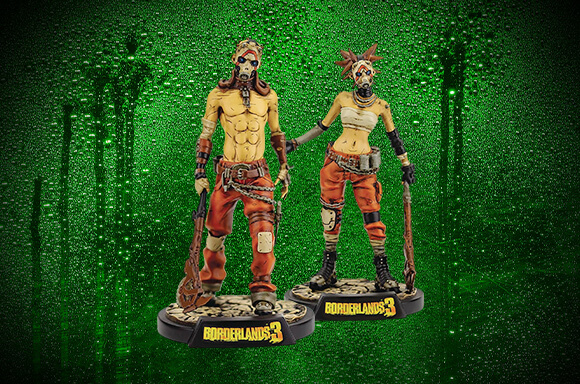 2 VOOR €16,99 Borderlands Figuren