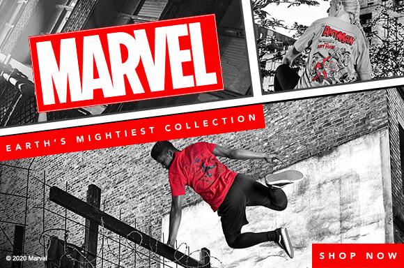 30% Korting Marvel Collection + gratis beanie/pet