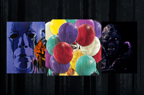 Horror Limited Edition Vinyl Soundtracks