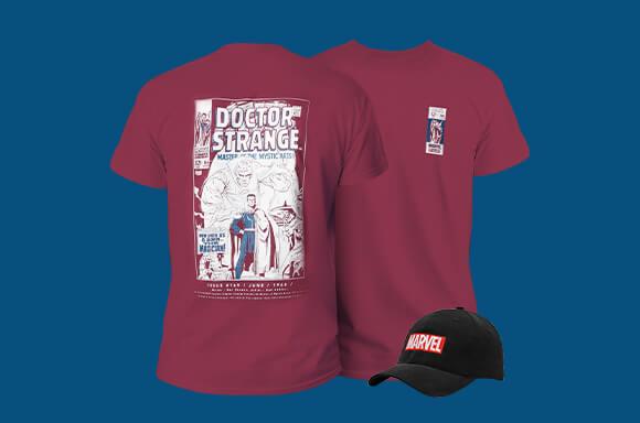 Marvel T-Shirt en Pet slechts €16,99