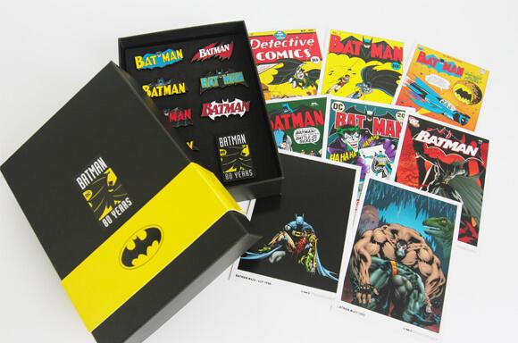 Batman pin set