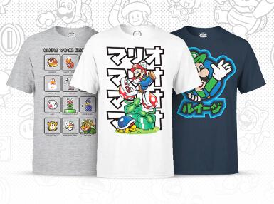 Nintendo kleding