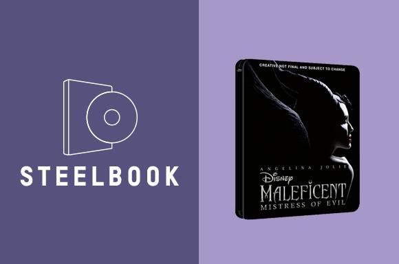 MALEFICENT: MISTRESS OF EVIL 3D & 4K STEELBOOKS