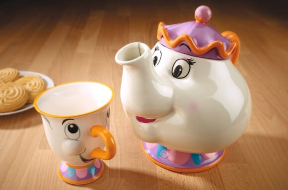 BEAUTY AND THE BEAST CHIP MOK & MRS POTTS THEEPOT