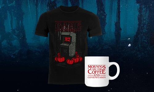 Game Over Halloween t-shirt