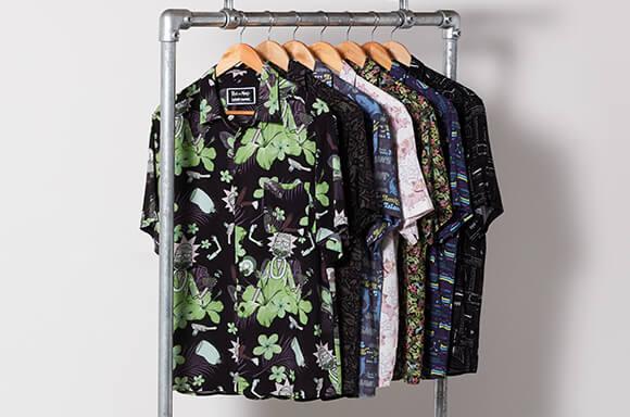 overhemden met geeky prints
