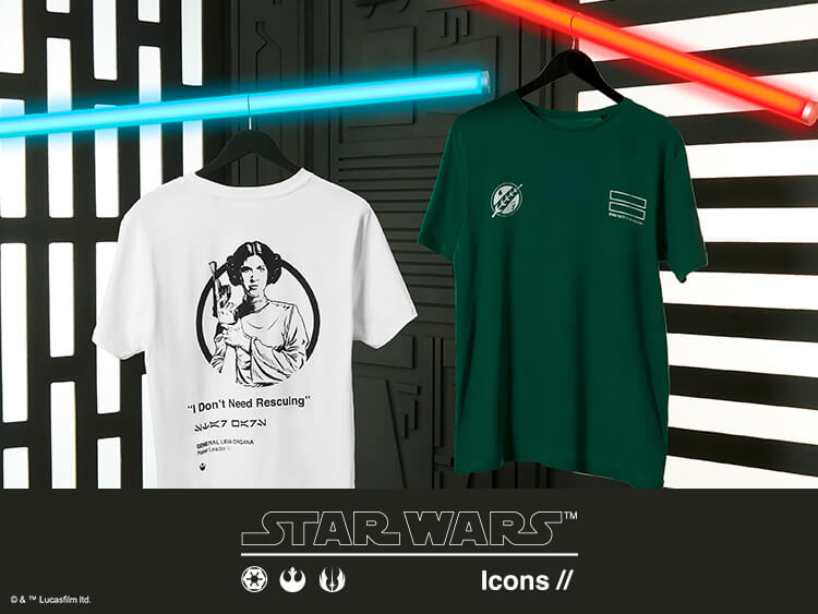 STAR WARS ICON CLOTHING COLLECTION